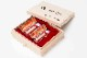 吉運手彫り印鑑(良き日の御祝印鑑/花嫁の印鑑) 2本セットB 【乳白水牛(牛の角):実印15.0mm丸+銀行印13.5mm丸】