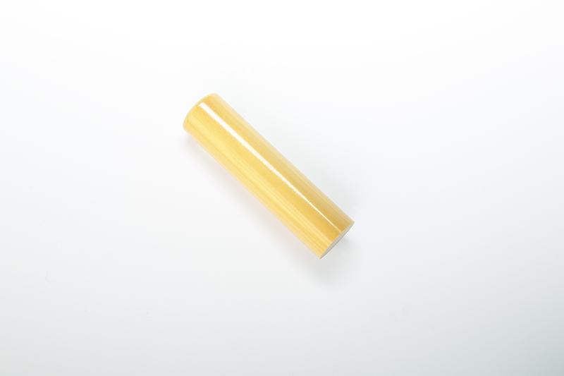 吉運手彫り印鑑(法人用印鑑)<エクセレント> 【本柘植:角印24.0mm】