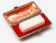 吉運手彫り印鑑(法人用印鑑)<エクセレント> 【本象牙:角印21.0mm】