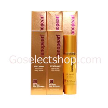 Express配送無料![Lanopearl]Penta-Max Nanosome Gold Serum [ラノパール] ペンタマックス ナノソーム ゴールドセラム(プラセンタ美容液)6本セット
