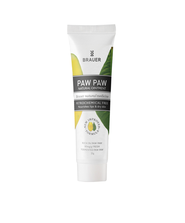 [BRAUER] Natural Pawpaw Ointment  ナチュラル ポーポークリーム 25g