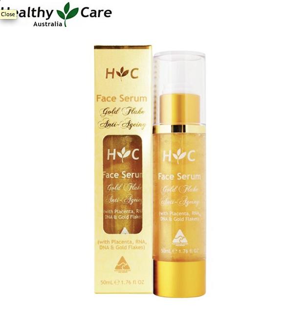 [HC] Gold Flake アンチエイジング フェイスセラム 50ml