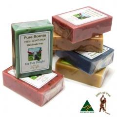 [Pure Scents Goat's Milk Soap] ピュアセンツ ゴートミルクソープ (ヤギのミルク石けん)