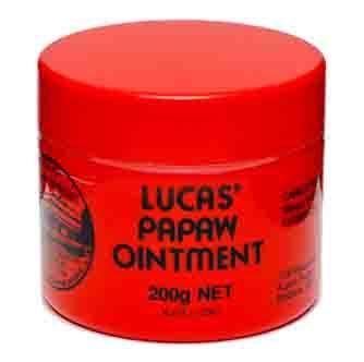 [Lucas' Papaw Ointment] ルーカスポーポークリーム 大きなサイズ200g 3個セット