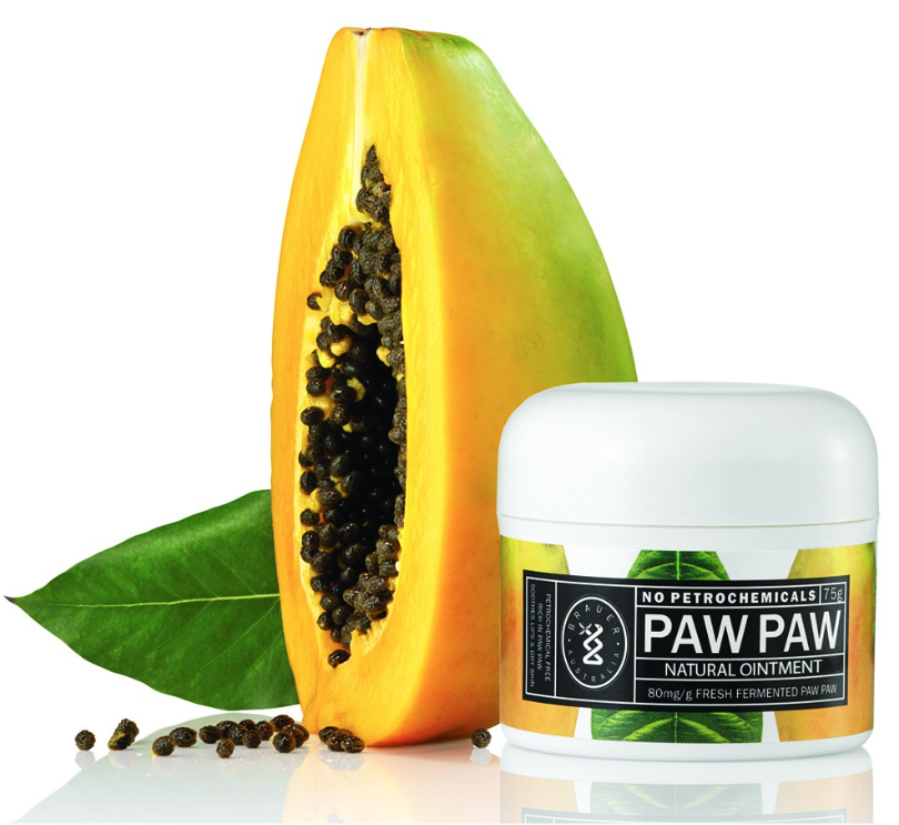 [BRAUER] Natural Pawpaw Ointment  ナチュラル ポーポークリーム 75g