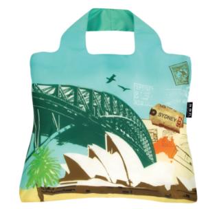 [ENVIROSAX] エンビロサックス エコバッグ Travel Eco Sydney シドニー