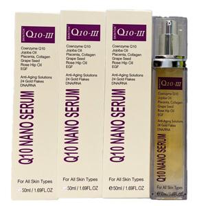 新発売20%OFF[Skintox] スキントックスQ10-III ナノセラムプラセンタ美容液 3本セット