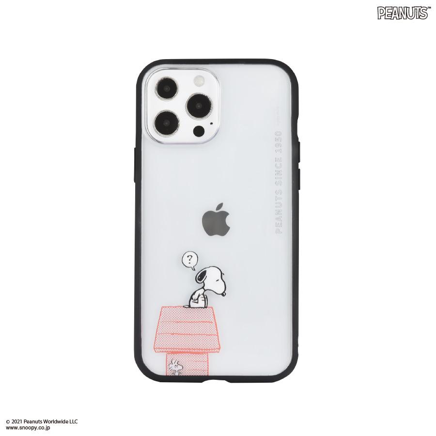 ピーナッツ IIIIfit Clear iPhone13 Pro Max対応ケース