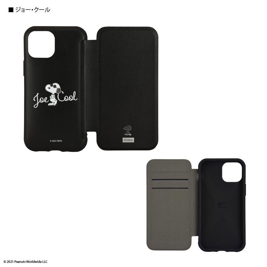 ピーナッツ IIIIfit Flip iPhone13 mini/12 mini対応ケース