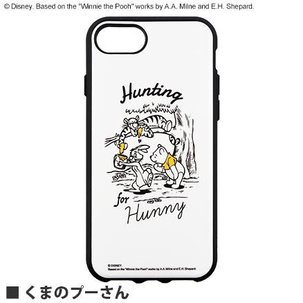 ディズニーキャラクター/IIIIfit iPhoneSE(第2世代)/8/7/6s/6 対応ケース