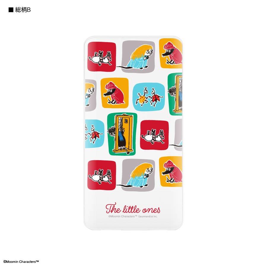 ムーミン【The little ones】 USB/USB Type-C 4000mAh リチウムイオンポリマー充電器2.1A