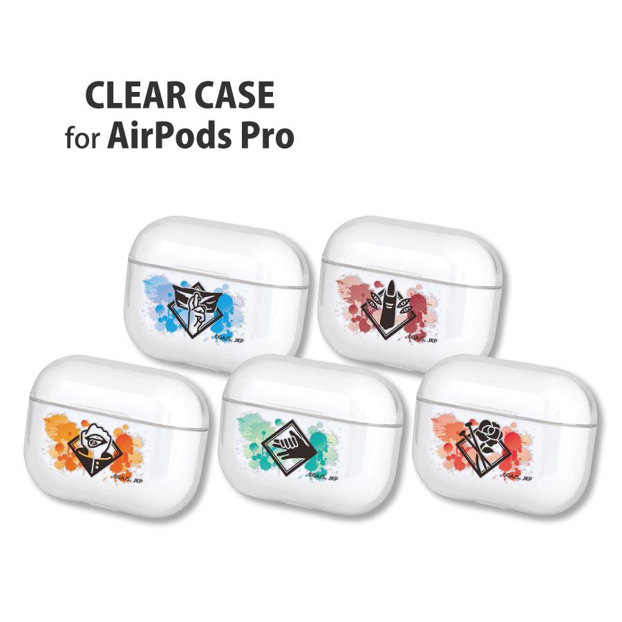 呪術廻戦 AirPods Pro クリアケース