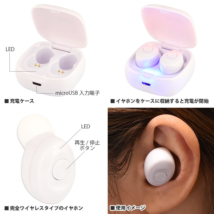 IIIIfit Bluetooth ワイヤレスステレオイヤホン
