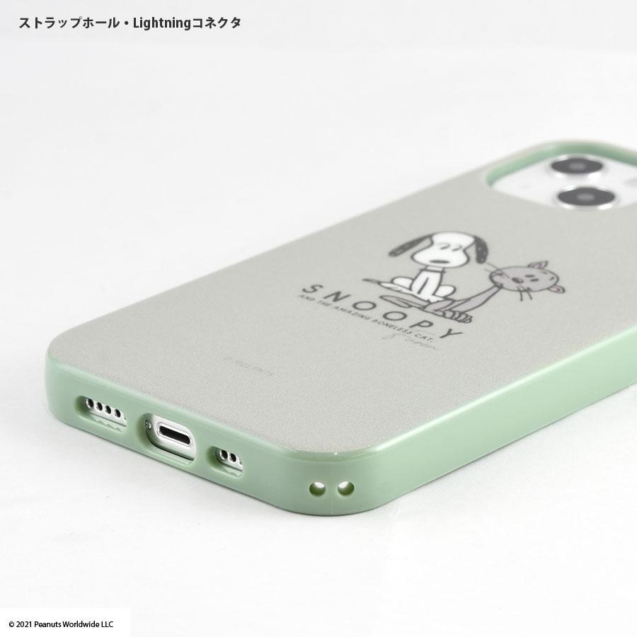 ピーナッツ iPhone13対応 ソフトケース