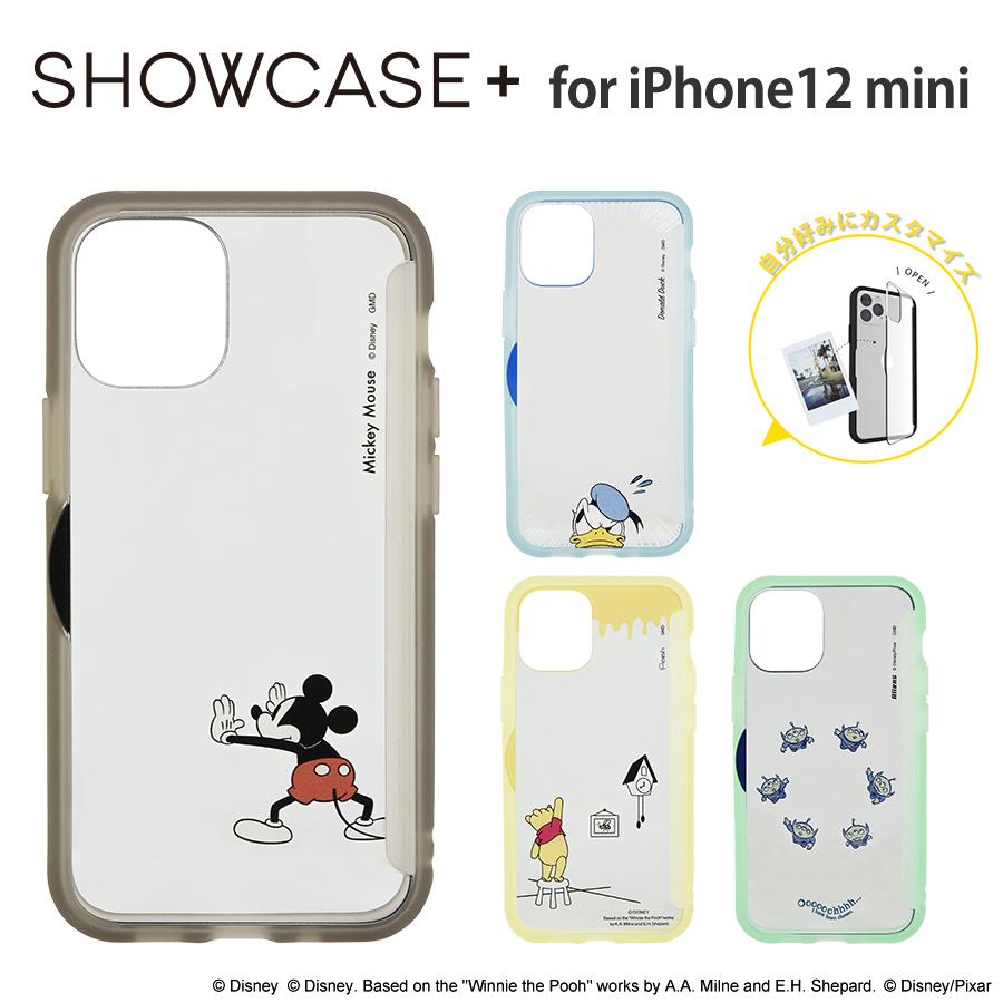 ディズニー、ディズニー・ピクサーキャラクター/SHOWCASE+ iPhone12 mini対応ケース