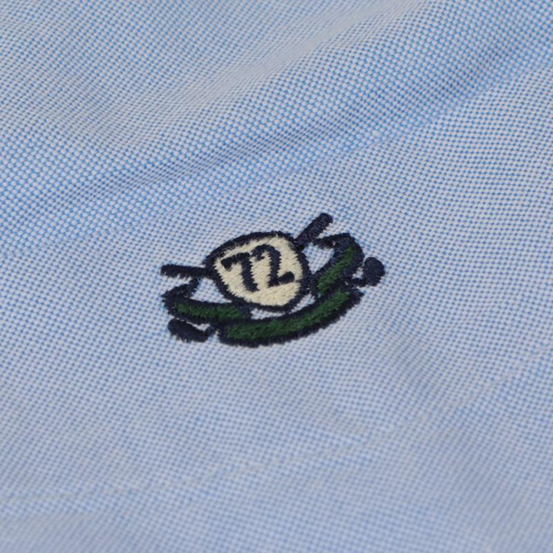 【数量限定!】ランズエンド ゴルフ刺繍入りオックスフォードシャツ