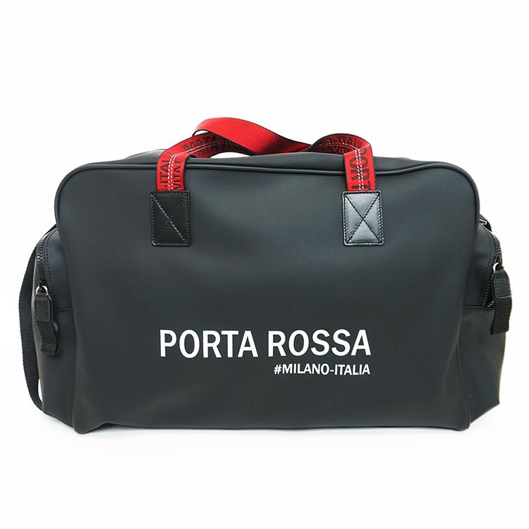 【洒脱な存在感】PORTAROSSA PVCボストンバッグ