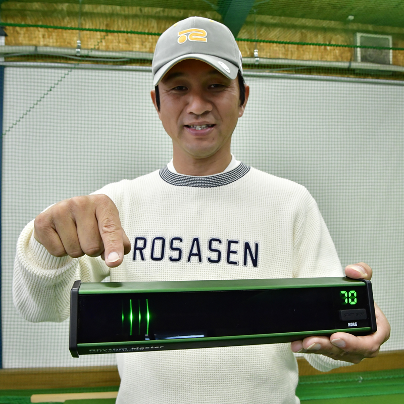 KORG Rhythm Master(リズムマスター)【スウィングリズムが見える!?】