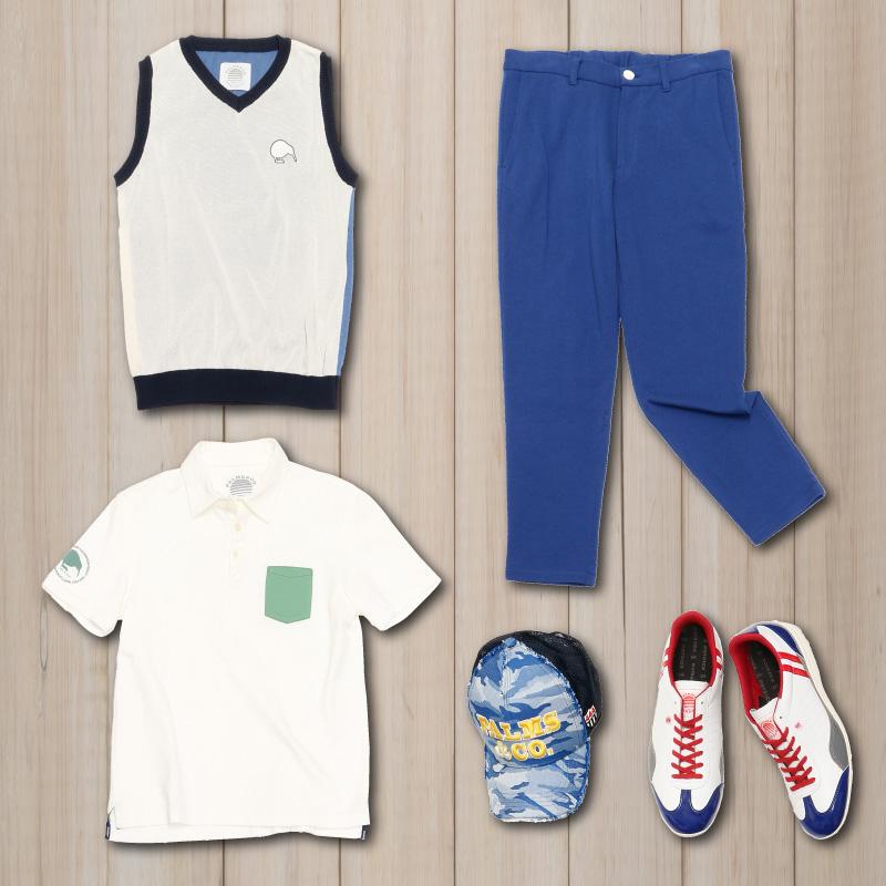 【春夏ゴルフの体温調節に】KIWI&CO. 春夏ベスト