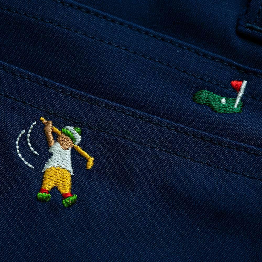 残り僅か!【裾上げしてお届け】ゴルフ専用パンツ ランズエンド別注