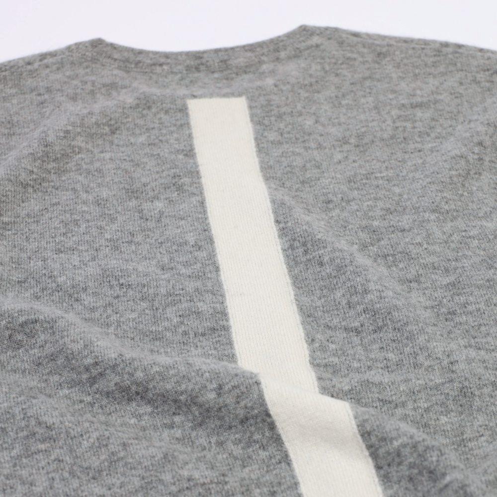 【スウェット感覚】HOSU カシミヤ100%クルーネックセーター