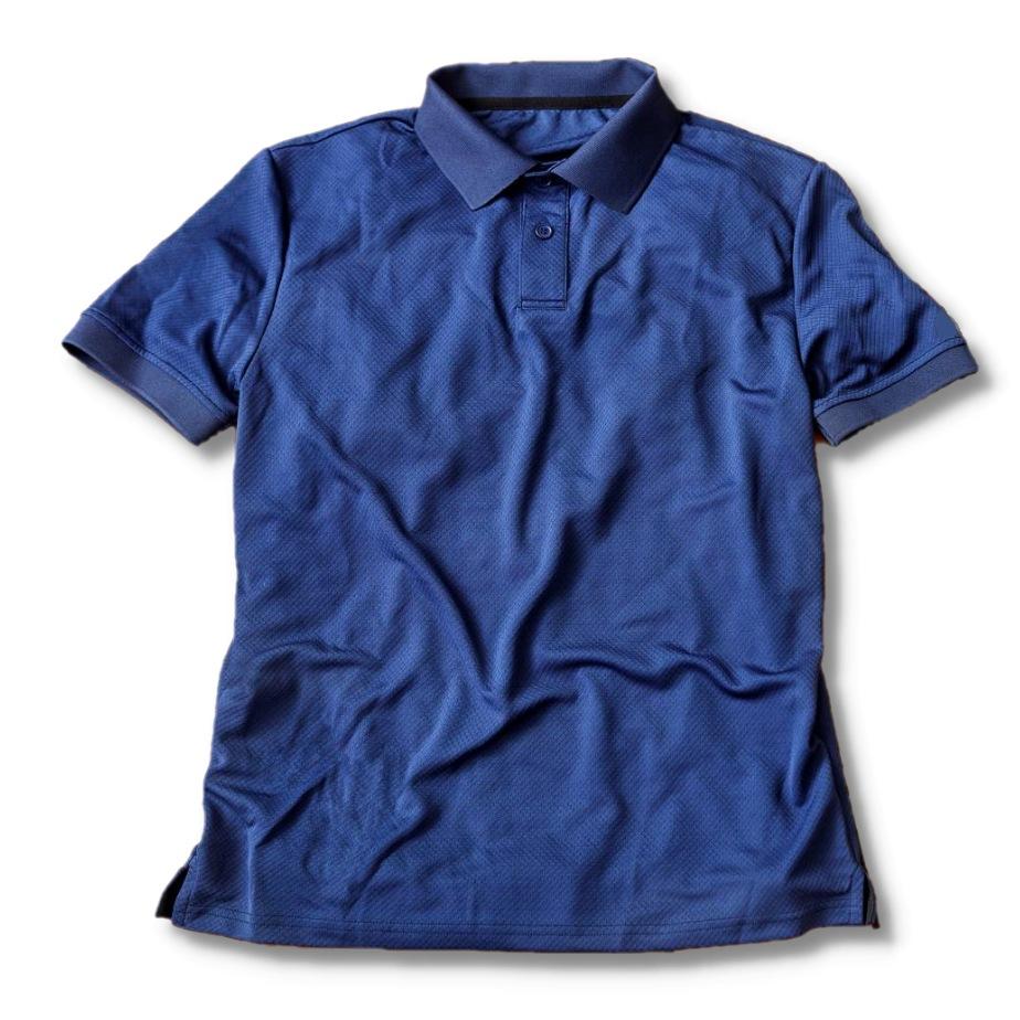 【あなたを守る】抗ウイルス・虫よけ・冷却 プロテクトポロシャツ