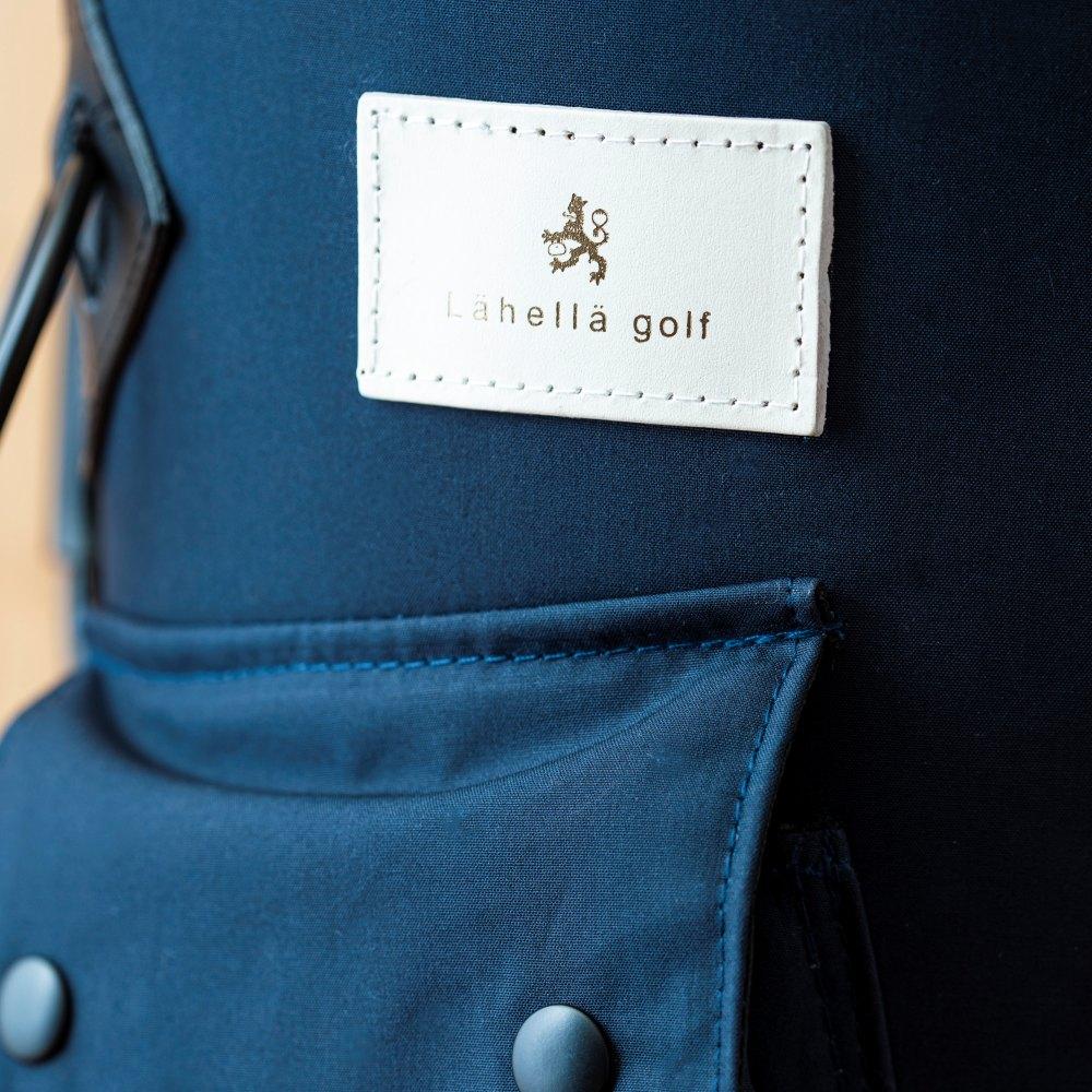 【伝統ある素材】BRITISH MILLERAIN素材キャディバック Lahella golf