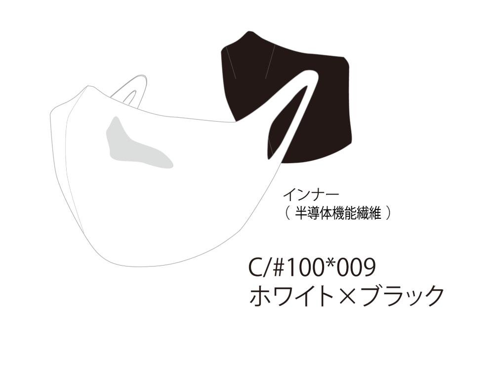 【オンヨネ × 新潟大学】ハイブリッド マスク ※接触冷感・菌増殖抑制
