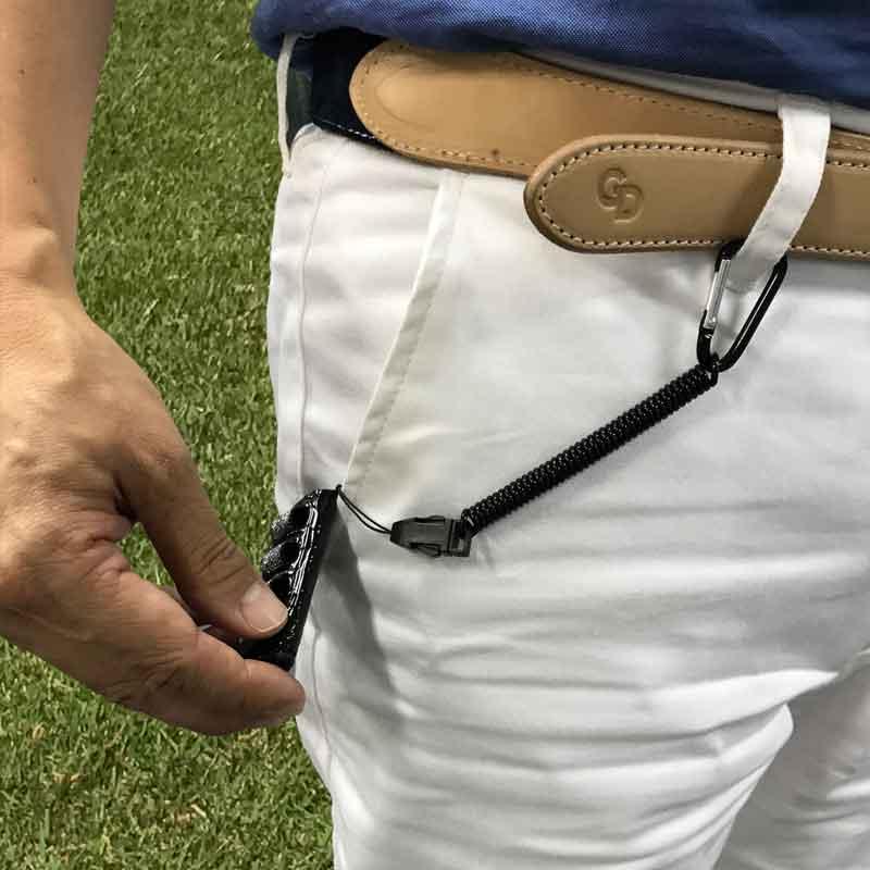【カモフラージュ柄はとんぼマーカー付】ゴルフ小物収納ツール RZ-HOLDER