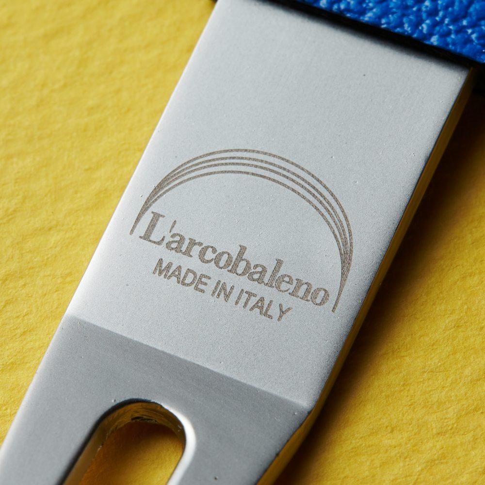 【イタリア製のカラフルな】ラルコバレーノ グリーンフォーク
