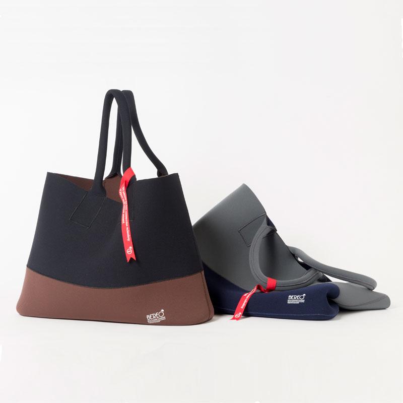 【週ゴル別注】ウエットスーツ素材トートバッグ