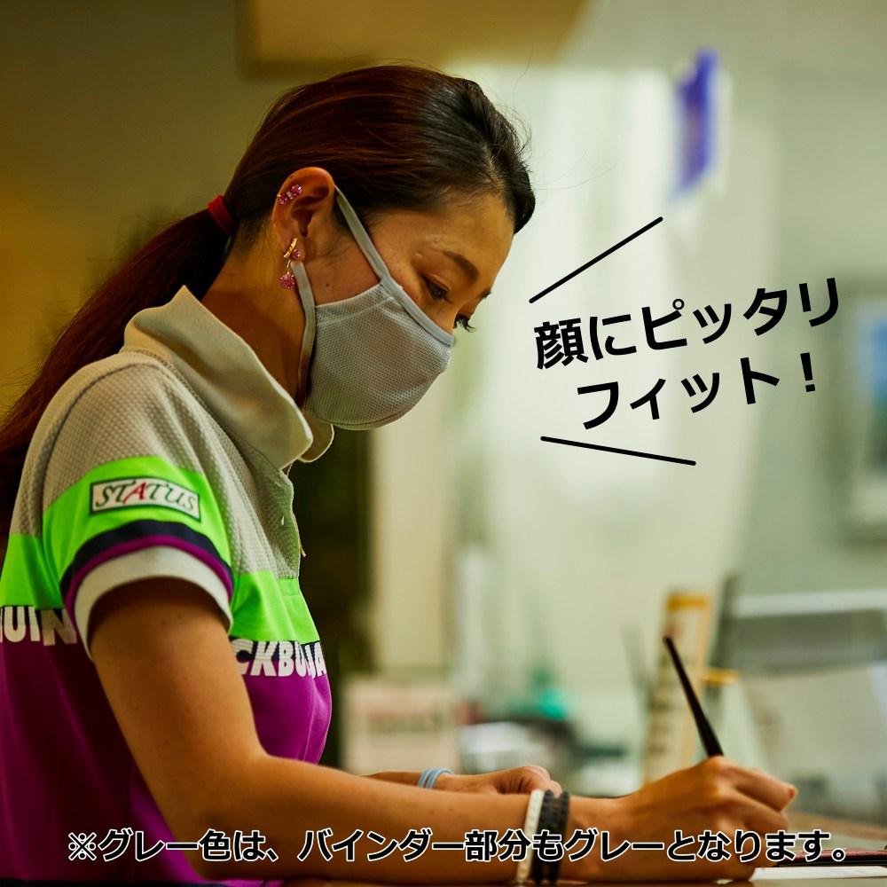 完売御礼!【接触冷感!ムレない】夏ゴルフ用 冷感マスク
