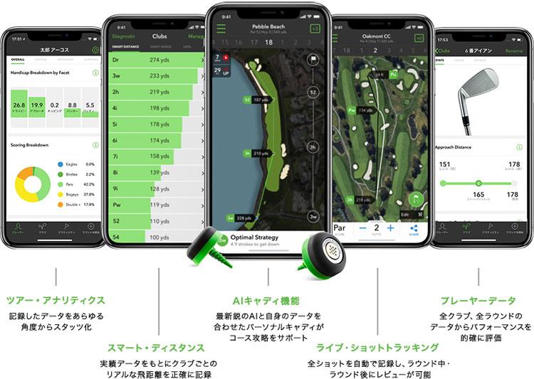 ARCCOS CADDIE(アーコス キャディ) 【対応OS】 iOS 10以降