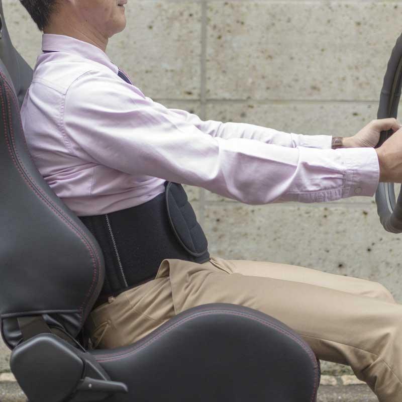【セール:50%OFF】【体験者の92%が効果を実感!】2WAYサポーター「ドライバーズディスク」