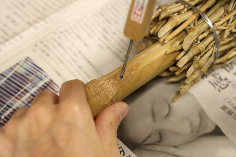 ローリー・マキロイも振った!<br>【海老原清治プロ監修】素振り練習用『竹ボウキ』作り方 ※復活販売限定30本