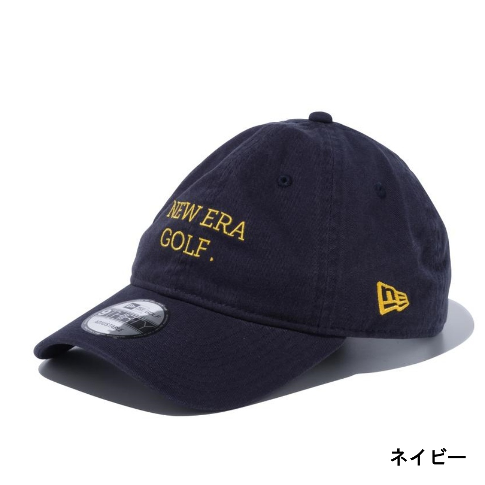 【上品×カジュアル】NEWERA GOLFキャップ  9THIRTY