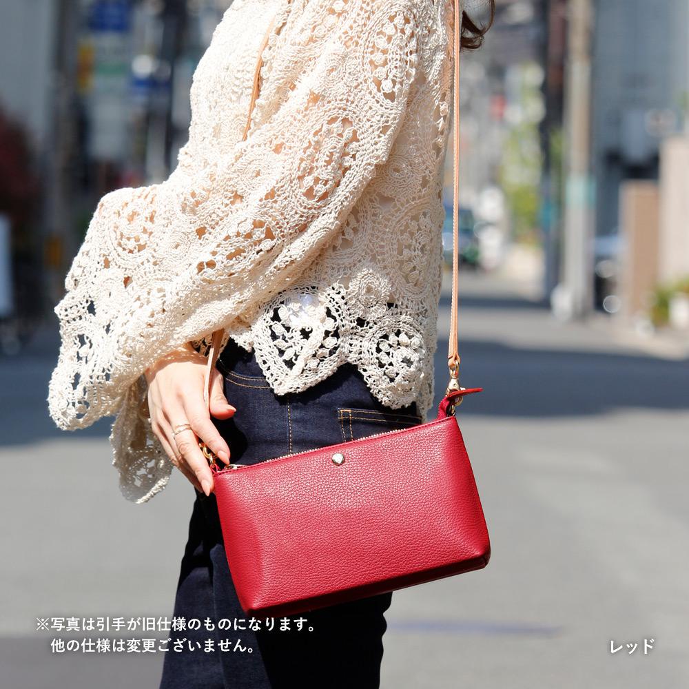 イタリアンレザー×帆布カードケース