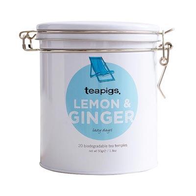 ティーピッグス レモン&ジンジャー 20パック缶入り