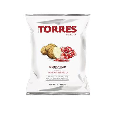 トーレス イベリコハム風味ポテトチップス 50g