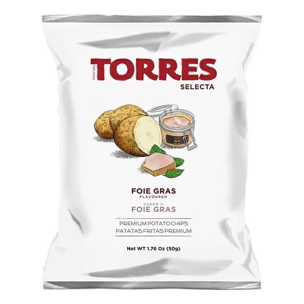 トーレスフォアグラ風味ポテトチップス 50g