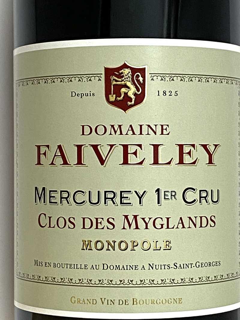 2019年 ドメーヌ フェヴレ メルキュレ クロ デ ミグラン 750ml フランス ブルゴーニュ 赤ワイン
