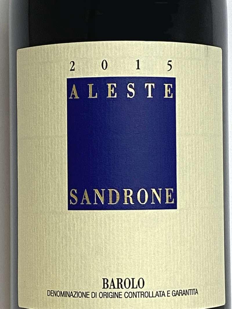 2015年 ルチアーノ サンドローネ バローロ アレステ 750ml イタリア 赤ワイン