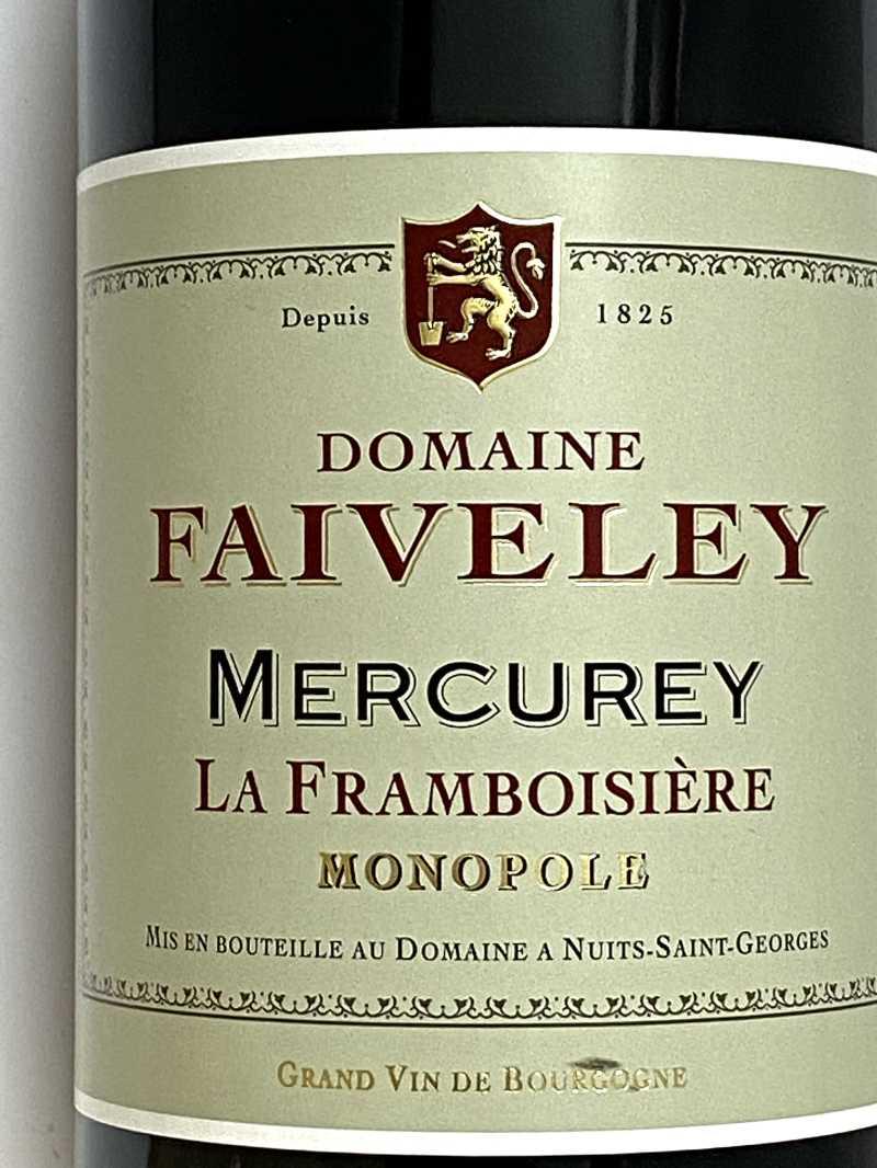2019年 ドメーヌ フェヴレ メルキュレ ラ フランボワジエール 750ml フランス ブルゴーニュ 赤ワイン