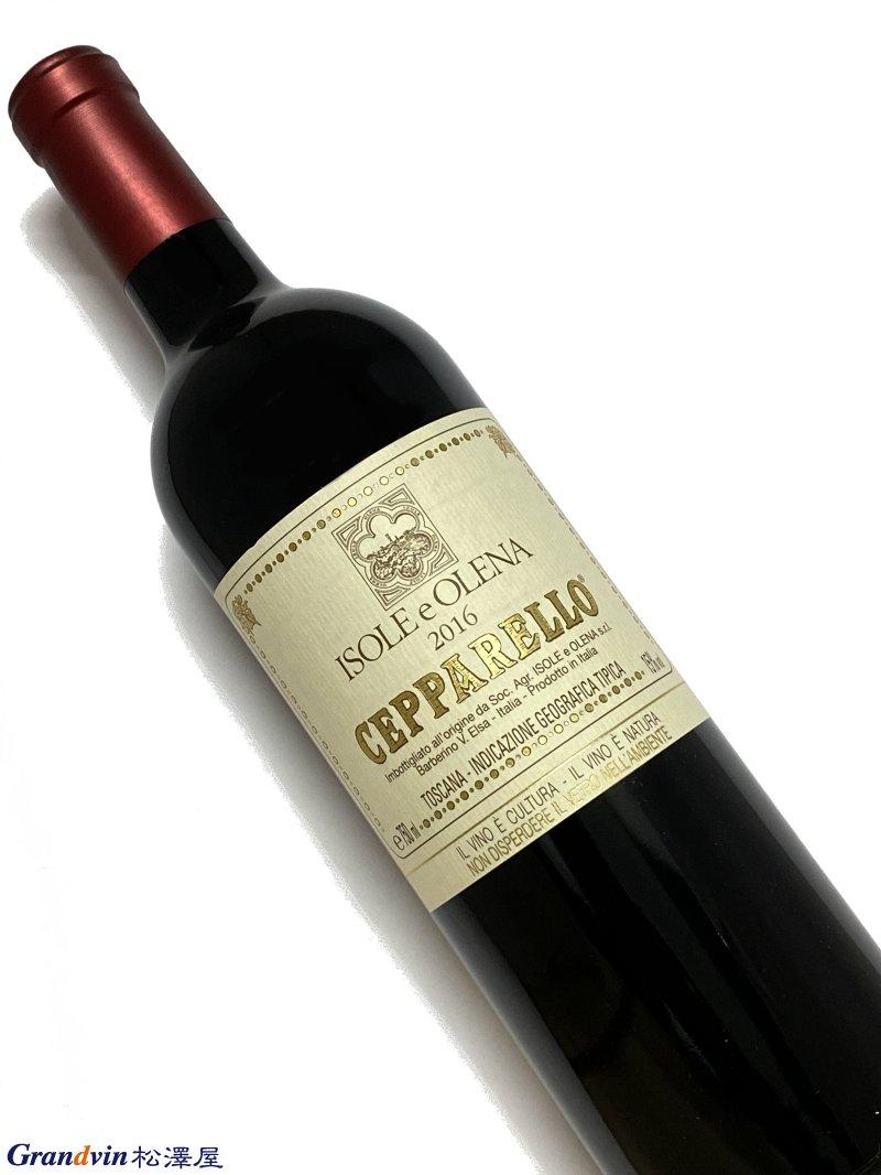2016年 イゾレ エ オレーナ チェパレッロ 750ml イタリア トスカーナ 赤ワイン