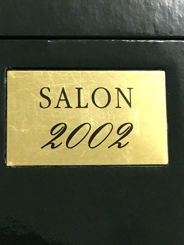 2002年 サロン シャンパーニュ ブリュット ブラン ド ブラン ル メニル 箱付き 750ml フランス シャンパン