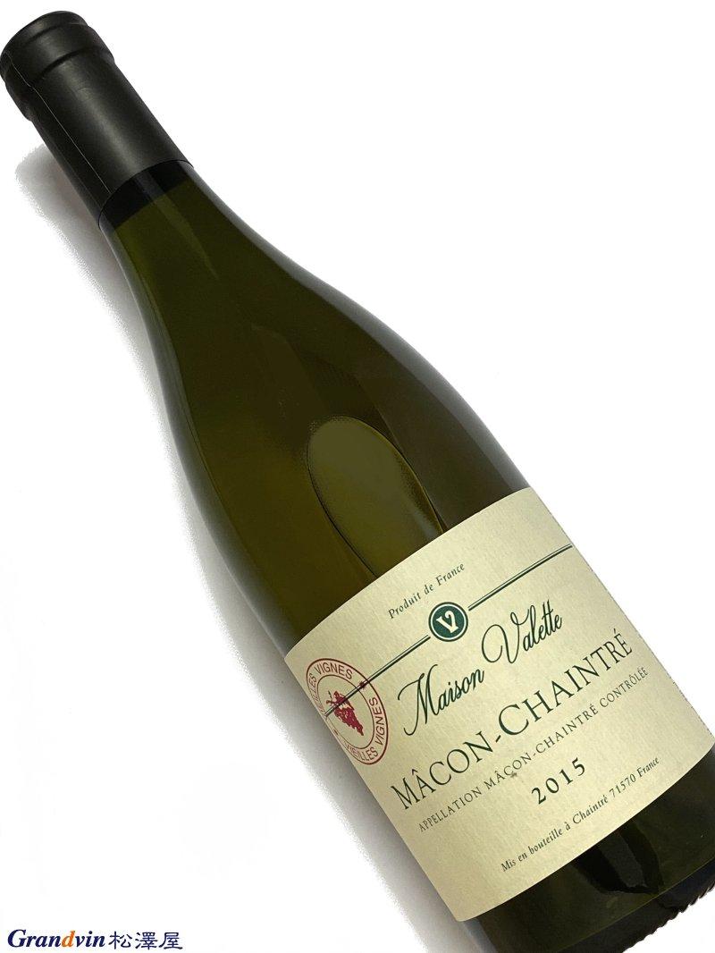 2015年 ヴァレット マコン シャントレ ヴィエイユ ヴィーニュ 750ml フランス ブルゴーニュ 白ワイン
