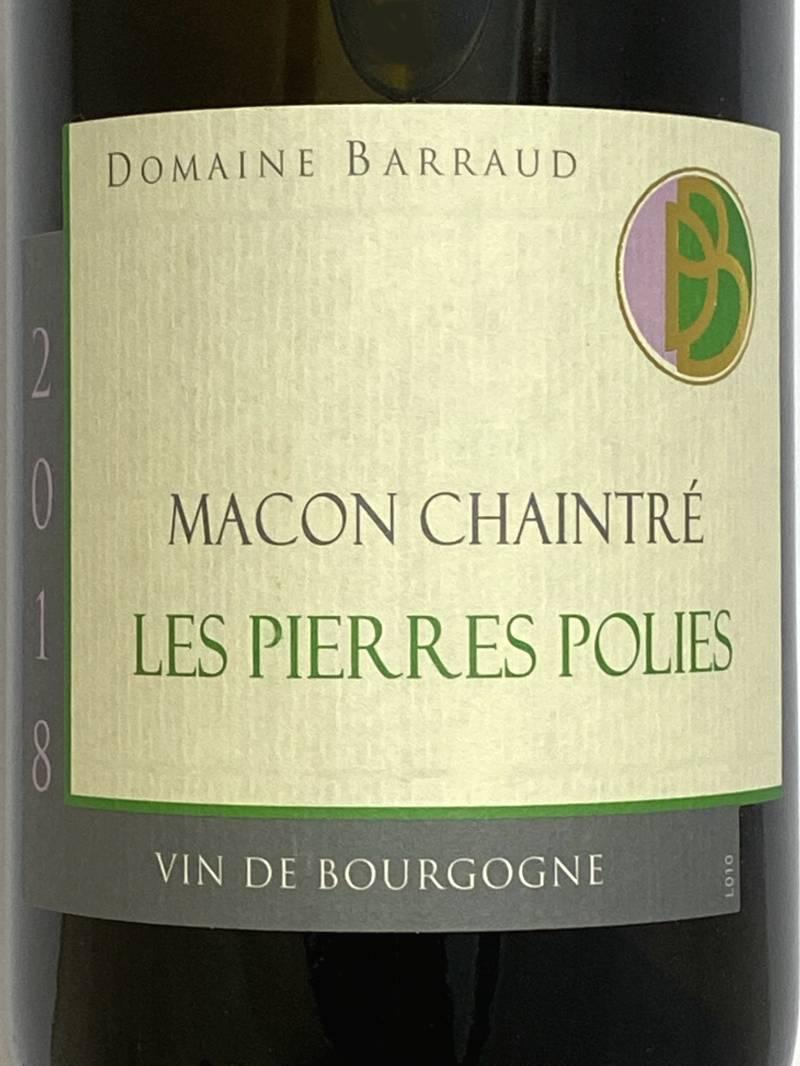 2018年 バロー マコン シャントレ レ ピエール ポリ 750ml フランス ブルゴーニュ 白ワイン