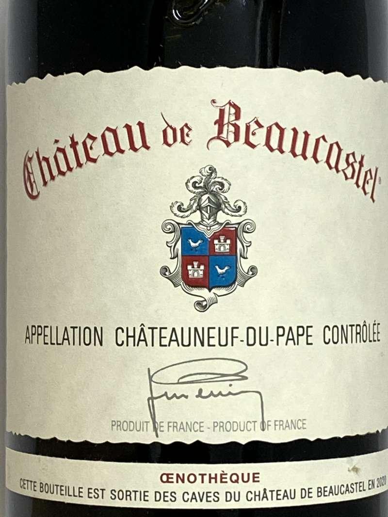 2006年 ボーカステル シャトーヌフデュパプ ルージュ エノテーク 750ml フランス ローヌ 赤ワイン