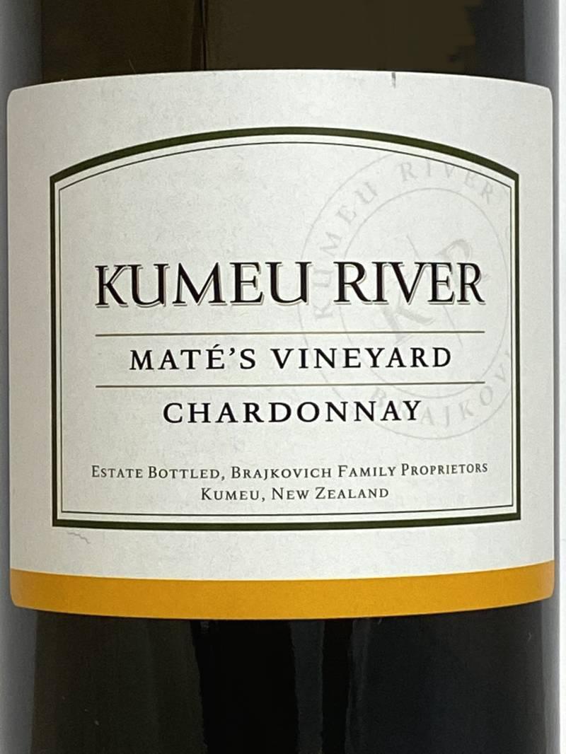 2017年 クメウ リヴァー マテズ ヴィンヤード シャルドネ 750ml ニュージーランド 白ワイン