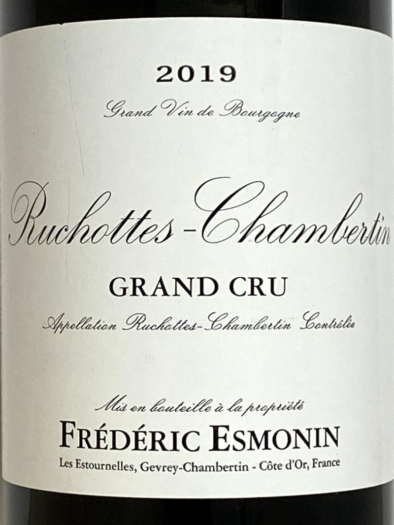 2019年 フレデリック エスモナン リュショット シャンベルタン 750ml フランス ブルゴーニュ 赤ワイン